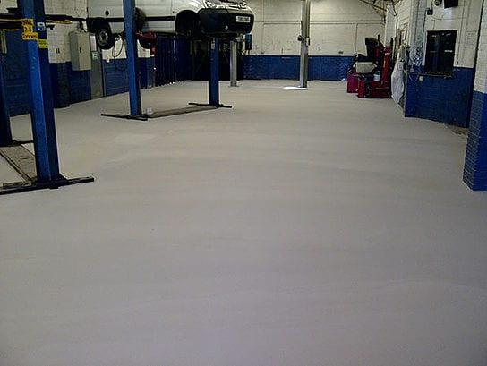 Monarcemflow- factory flooring - Monarch Flooring - UK Resin