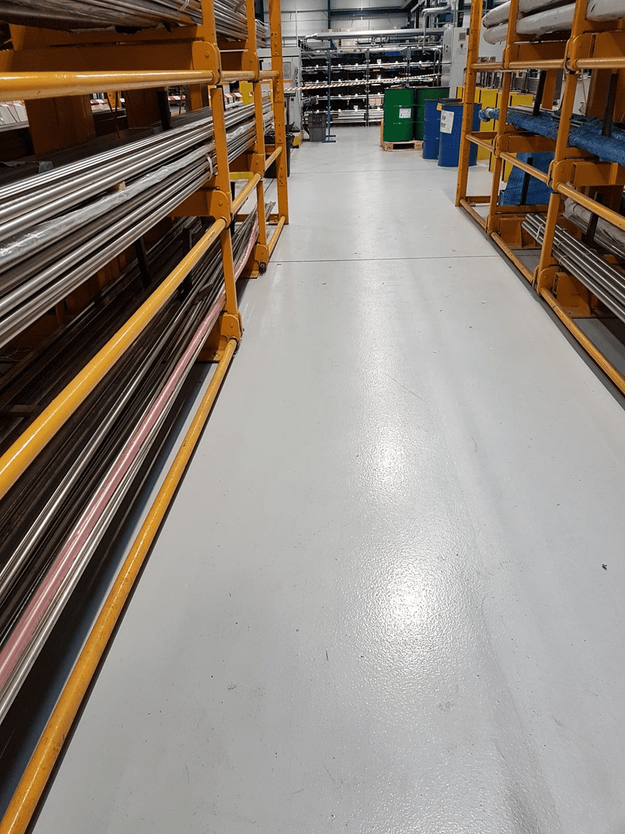 Monargrip - factory flooring - Monarch Flooring - UK Resin
