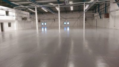 Antistatic Flooring - Monarch - Step by step process