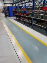 Steel Manufacturers - resin flooring gangways - factory flooring - Monarch Resin Flooring