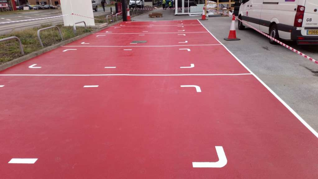 Tarmac Painting and Resin Car Parks | Resin Flooring | Monarch