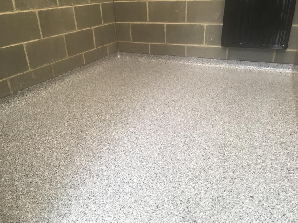 Decorative Flake Finish Flooring
