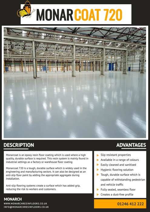 Monarcoat 720 Brochure