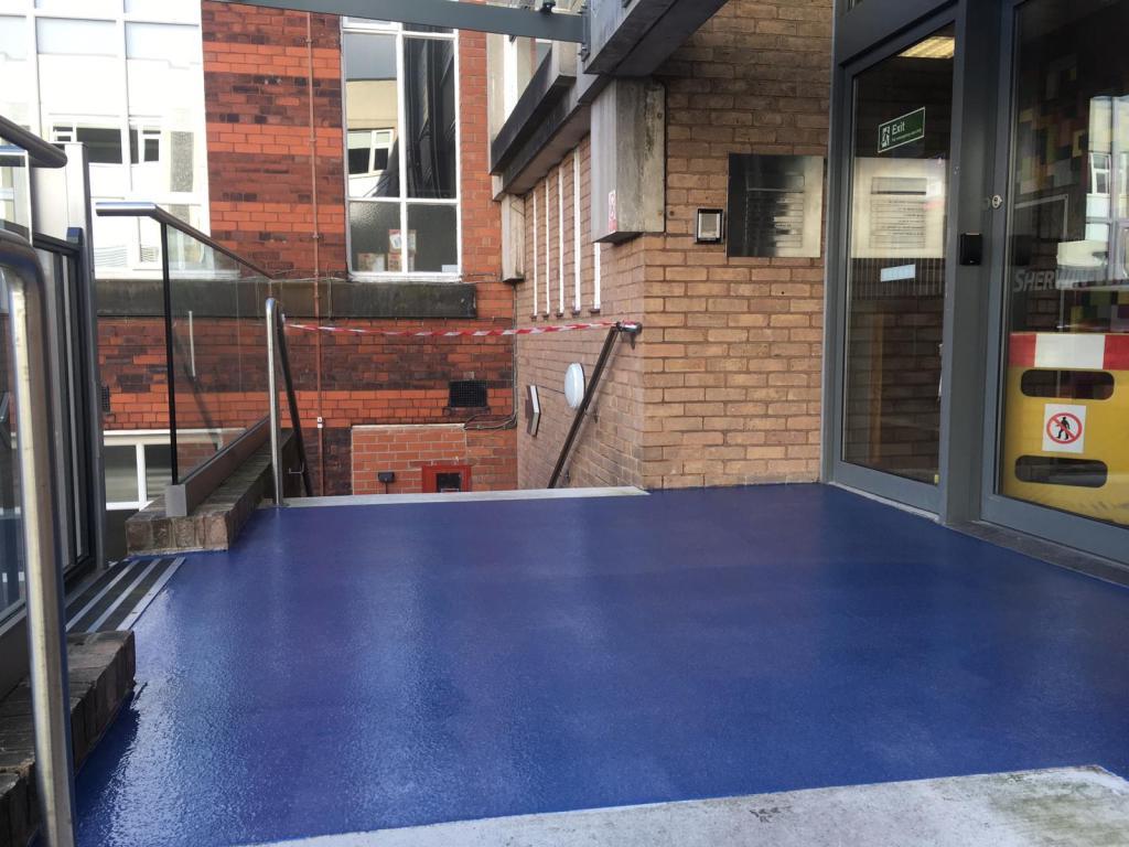 Exterior Resin Flooring
