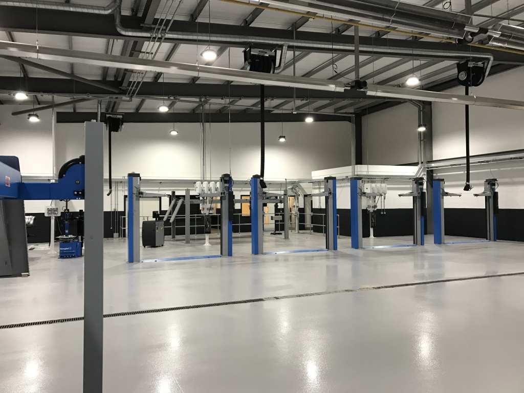 automotive flooring workshop York
