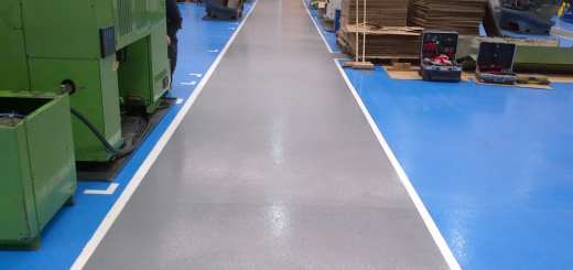 manufacturing flooring resin