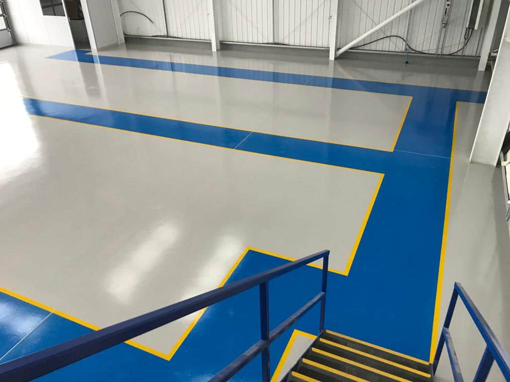 manufacturing resin flooring