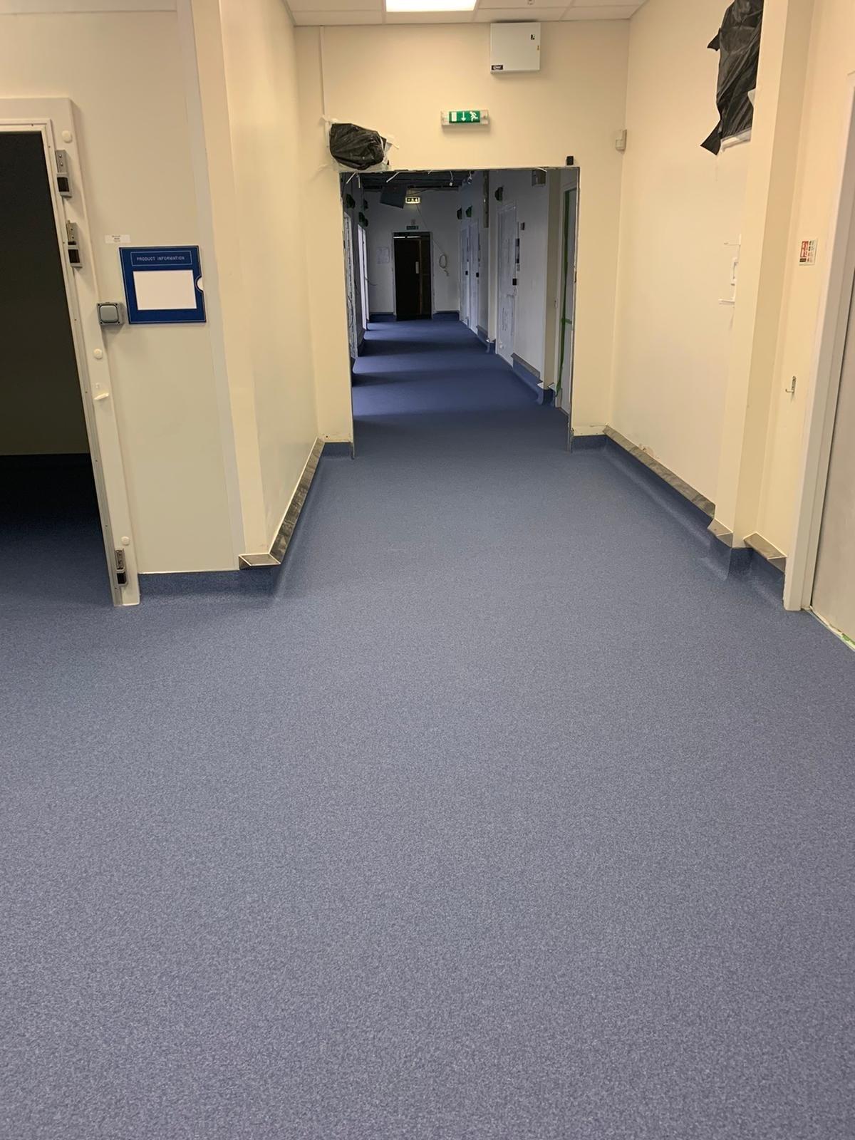 pharmaceutical resin floor