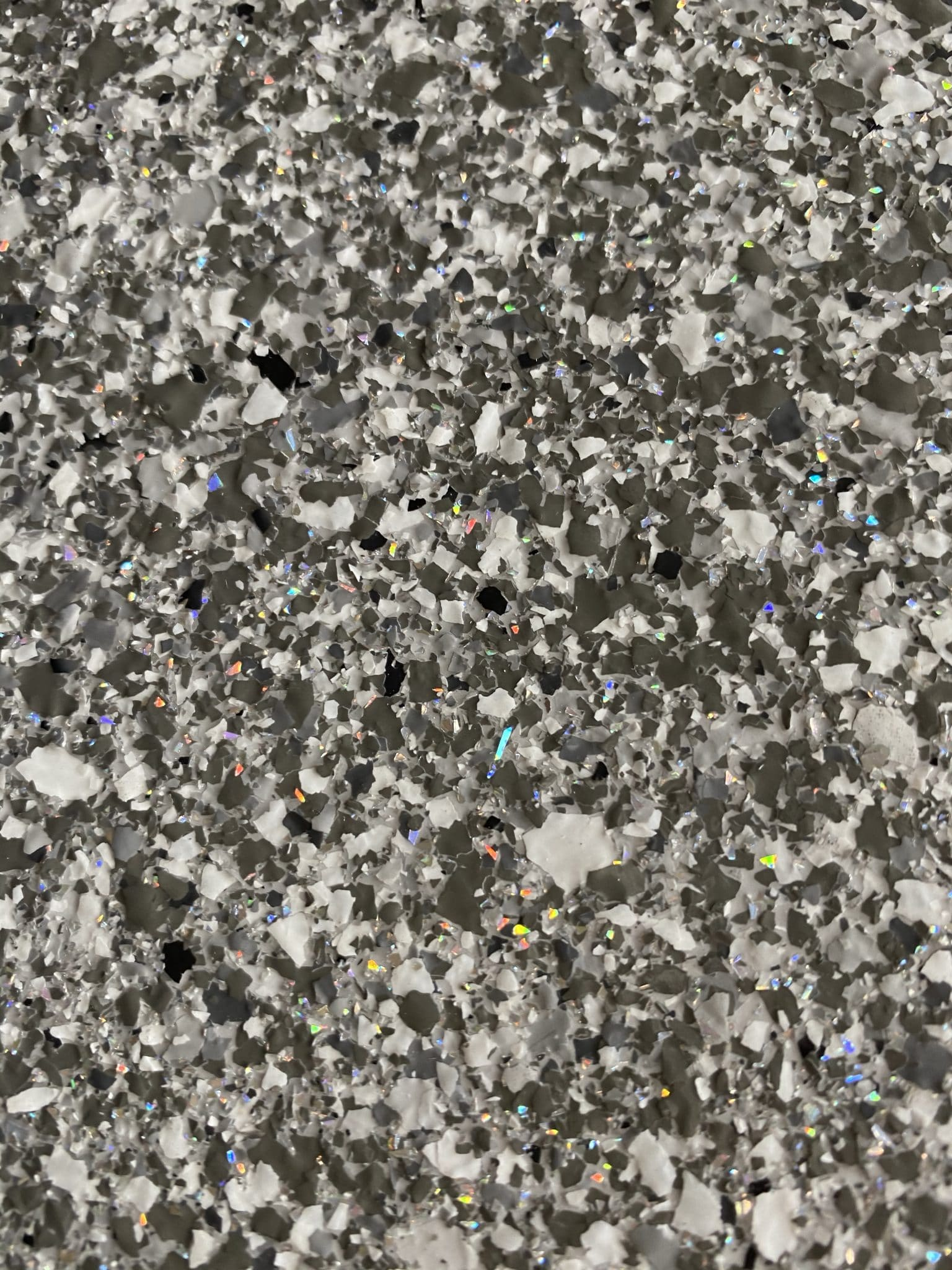 decorative resin flooring flake finish cosmo blend