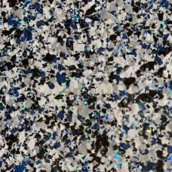 decorative resin flooring flake finish midnight blend