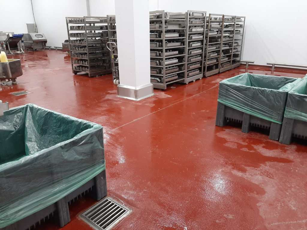 food and drink factory flooring