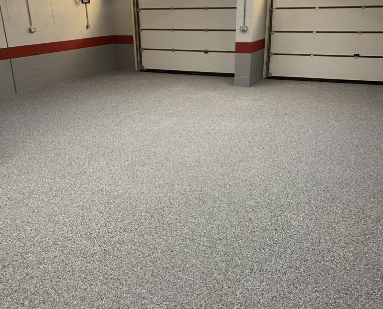 domestic garage resin flooring