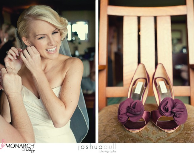 lodge-at-torrey-pines-orange-and-purple-wedding-bride