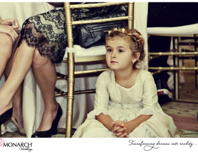 Flowergirl-watches-first-dance-Westgate-hotel