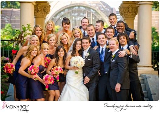 Prado-Balboa-Park-Wedding-royal-blue-bridesmaid-dress