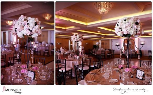 La-Valencia-Hotel-Verandah-Ballroom-Blush-Black-white-Wedding