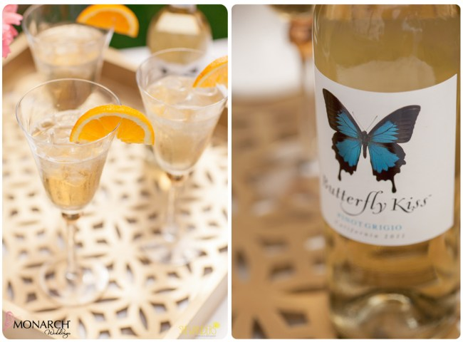 Exquisite-weddings-butterlfy-kiss-wine-monarch-cocktail