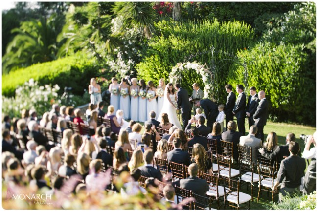 Garden-Chic-Rustic-Wedding-Ceremony