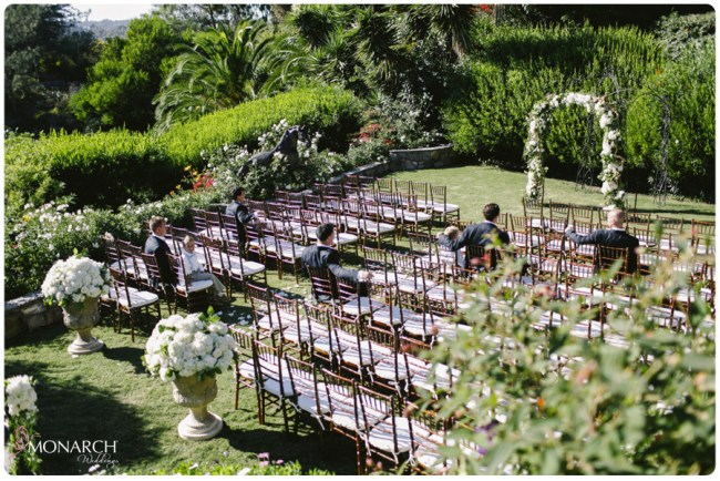 Garden-Chic-Rustic-Wedding-Ceremony-Arbor