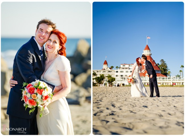 Bride-groom-beach-photo-nautical-theme-wedding-hotel-del-coronado