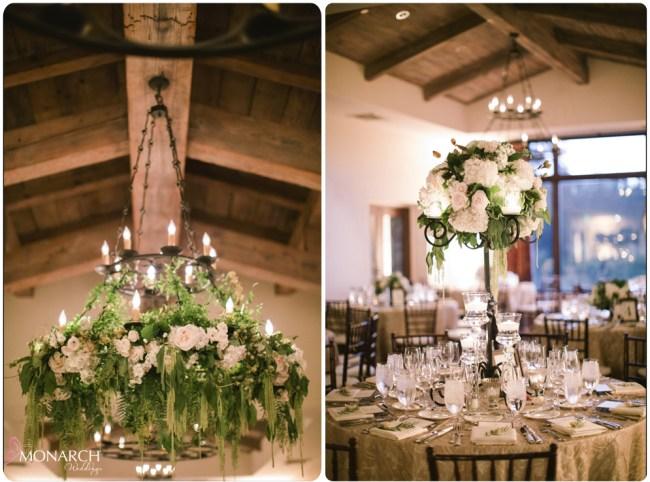 Garden-chic-wedding-floral-chandelier-rod-iron-candelabra-centerpiece