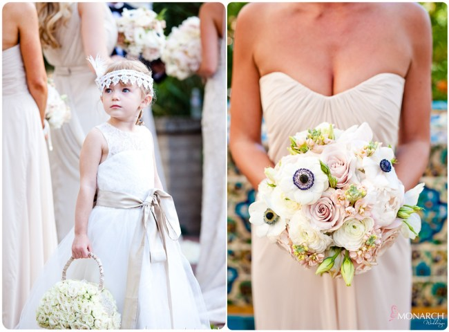 Flowergirl-flower-purse-gatsby-wedding-bouquet-prado-balboa-park