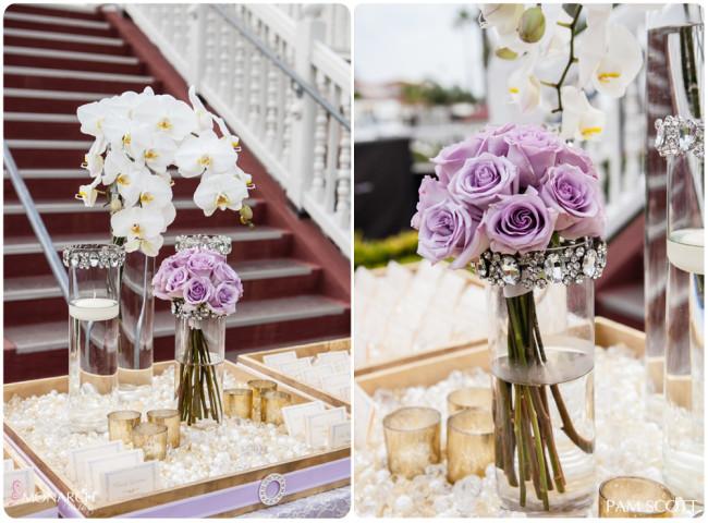 Gold Lavender And Rose Cau Cocomar Wedding By Steve Lee