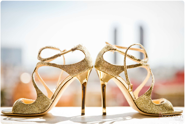 Jimmy-choo-gold-bride-shoes-US-Grant-hotel