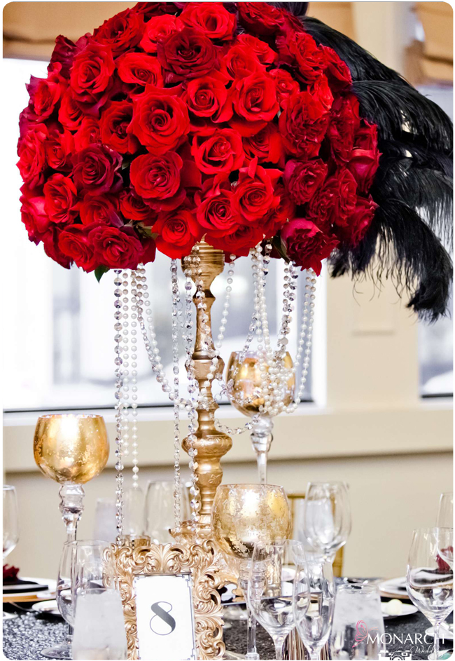 Red-rose-gold-gatsby-wedding-us-grant-hotel