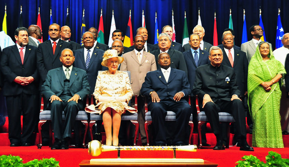 The Queen and Commonwealth leaders