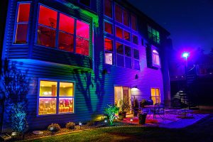 Exterior LED lights
