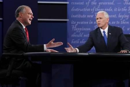 CNN Flash Poll: 48% Say Mike Pence Won VP Debate