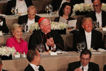 Trump, Clinton Face to Face after Final Debate for Iconic Al Smith Dinner in NYC