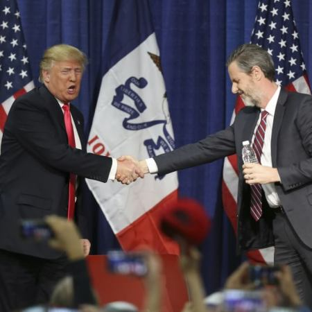 Jerry Falwell Jr. Says GOP Establishment Leaked Trump Tape