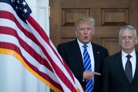 "Trump Picks Gen. James Mattis as Defense Secretary During First ""Thank Your Tour"""
