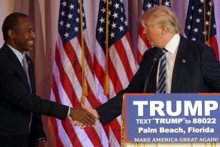Trump Picks Ben Carson for HUD Secretary