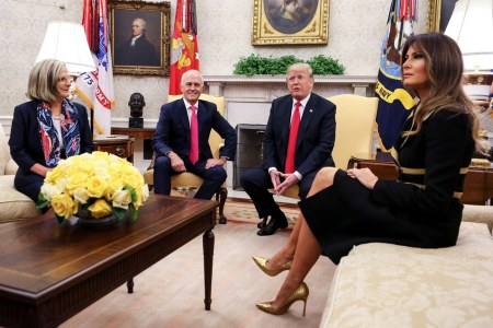 What melania wore greeting australian prime minister it was the first time the australian prime minister has visited the white house since trump took office as both leaders discussed the relationship between m4hsunfo