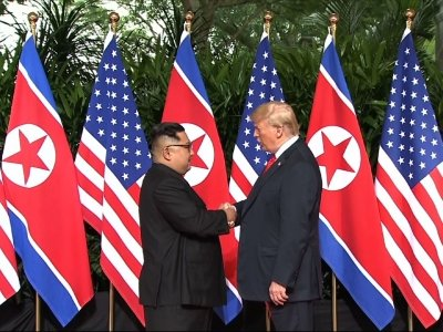 Trump, Kim Holds Historic Summit in Singapore
