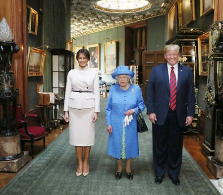 What Melania Wore Meeting Queen Elizabeth II