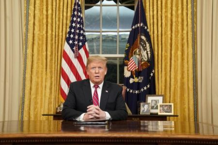 In Oval Office Address, President Trump Makes His Case For Border Wall