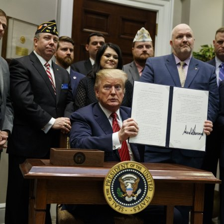 Trump Signs Executive Order to Address Veteran Suicide