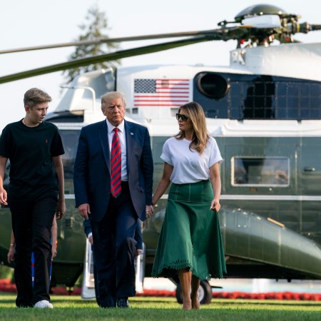 What Melania Wore Returning to the White House From Summer Vacation