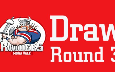 UPDATED – ROUND 3 DRAW
