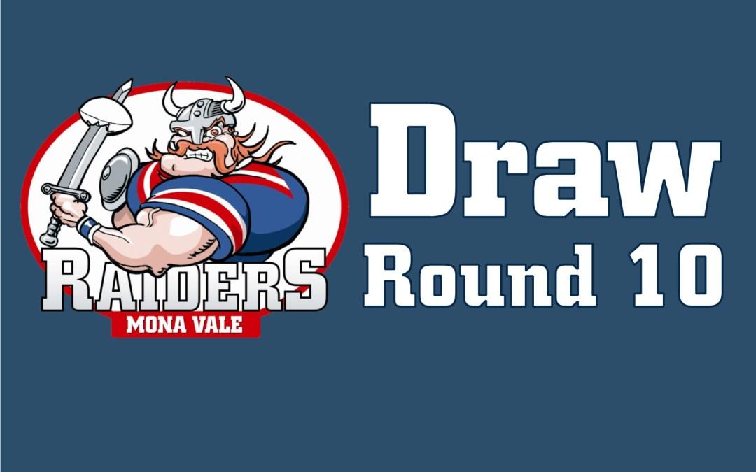 Round 10 Draw – 2018