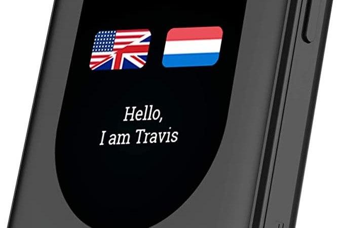 Travis Touch : Le traducteur vocal avec le meilleur rapport Qualité / Prix ?