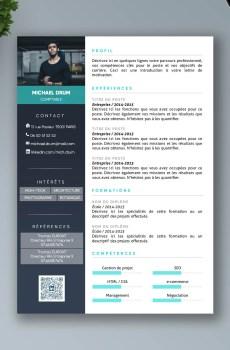 cv premium en francais a telecharger