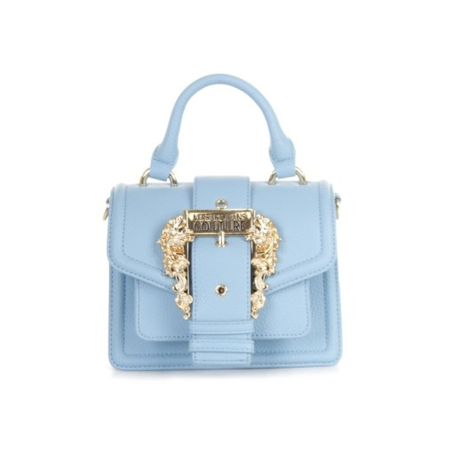 borsa a mano tracolla grana pu buckle indaco versace jeans couture 01