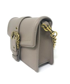 borsa a tracolla grana pu buckle taupe versace jeans couture 04