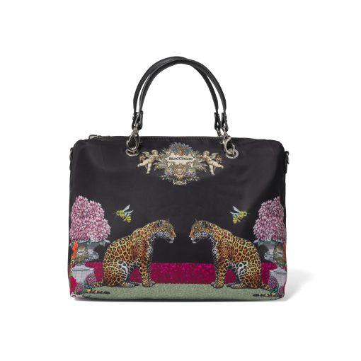 borsa donna bauletto removibile jennifer nera braccialini 03