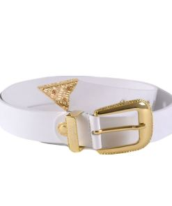 cintura donna bianca e oro versace jeans couture 01